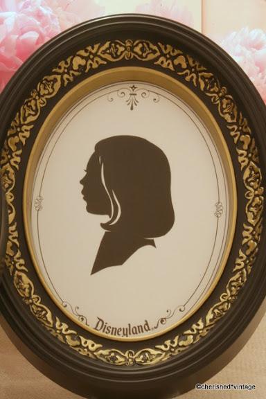 Cherished Vintage Disneyland Silhouette Studio Souvenir