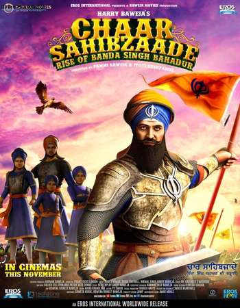 Poster Of Chaar Sahibzaade 2 2016 Hindi 720p   Watch Online Free Download world4ufree.org