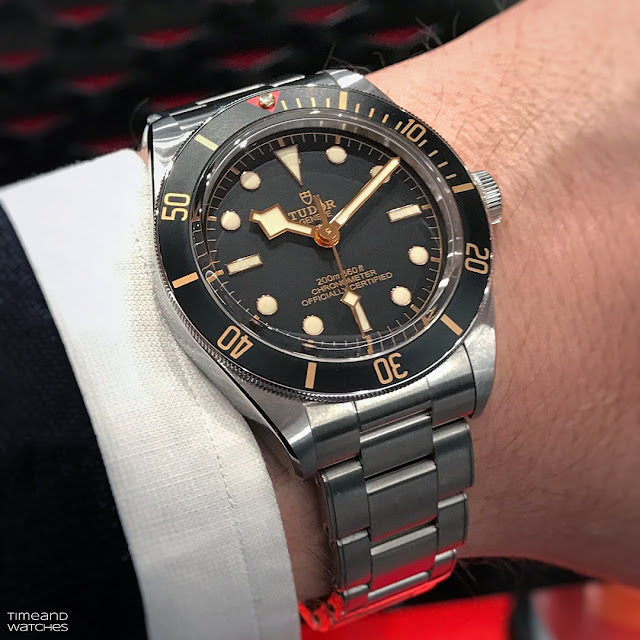 Tudor Black Bay Fifty-Eight wristshot