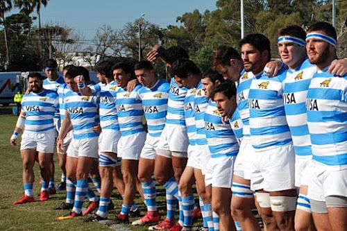 Formación de Argentina XV para la definición de la Nations Cup ante Uruguay