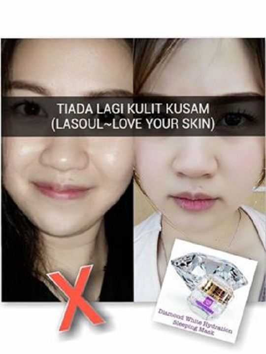 testimoni la' soul sleeping mask 10