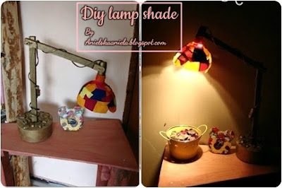fabric-scraps-lamp-shade- żyrandol-klosz-ze-skrawków-diy-tutorial-blog-design