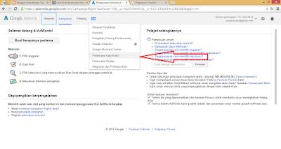 cara mencari kata kunci di google