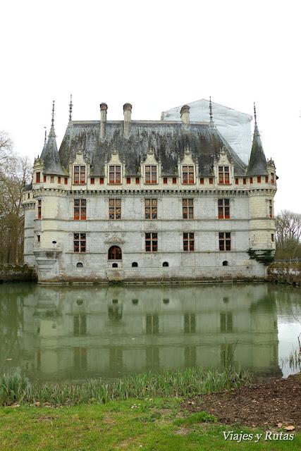 Chateau de D'Azay le Rideau