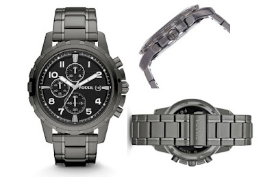 Fossil FS4721 DEAN Chronograph Watch - For Men