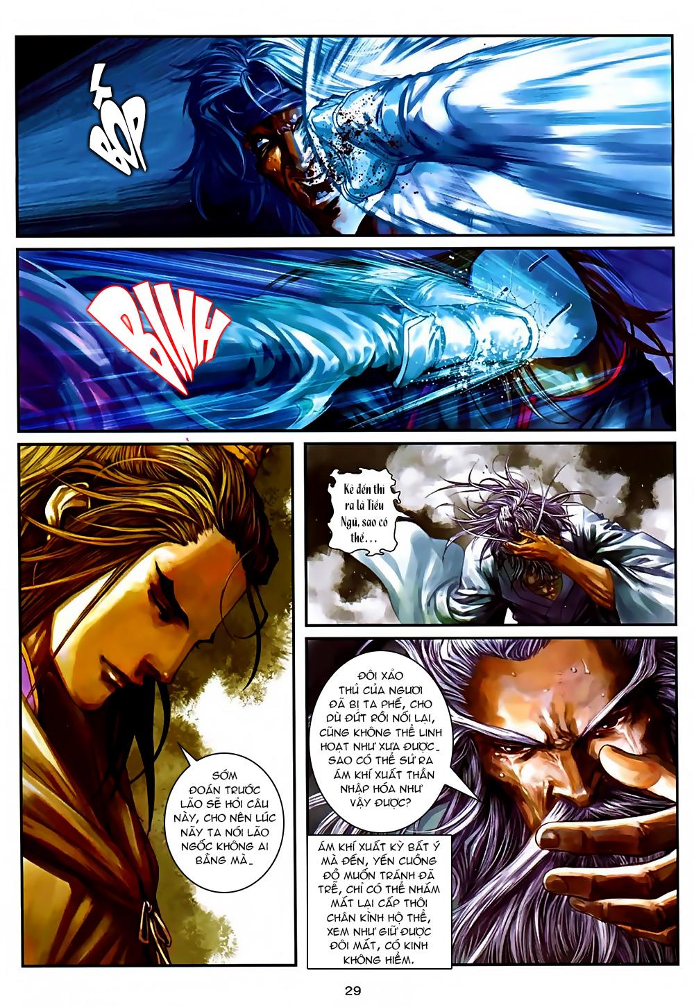 Ôn Thuỵ An Quần Hiệp Truyện Phần 2 chapter 37 trang 28