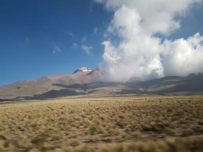 Trayecto entre Arequipa y Puno