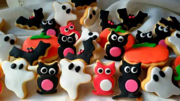 galletas monstruosas para halloween