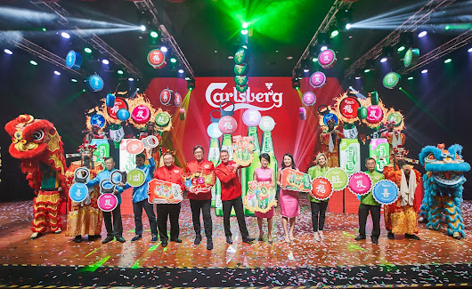 ♥Miriam MerryGoRound♥: Celebrate Prosperity, Happiness, Wealth and Good Luck in Vibrant Red, Pink, Green and Blue with Carlsberg this CNY!