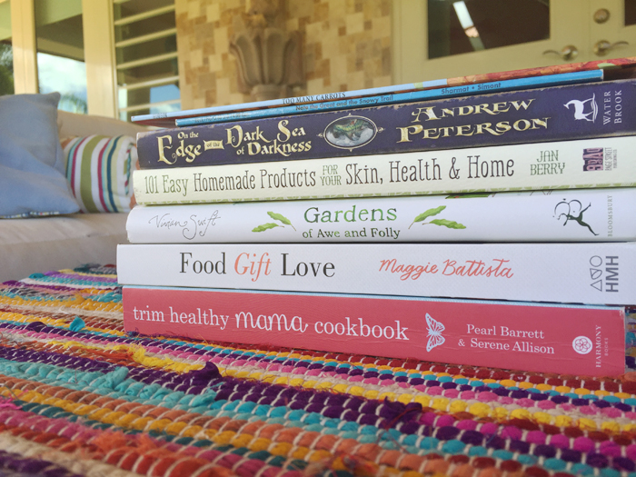 Summer Stack Reading List at A Nest for All Seasons