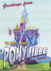 My Little Pony Ponyville Postcard Series 3 Trading Card