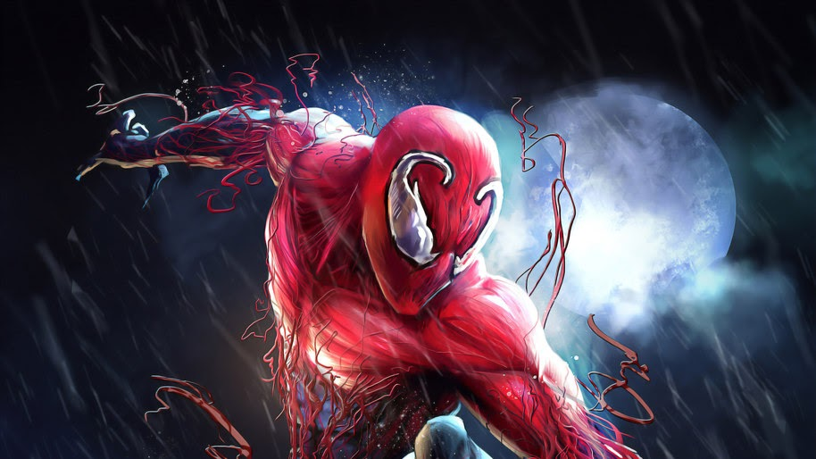 Spider-Man, Carnage, Symbiote, Marvel, 4K, #253
