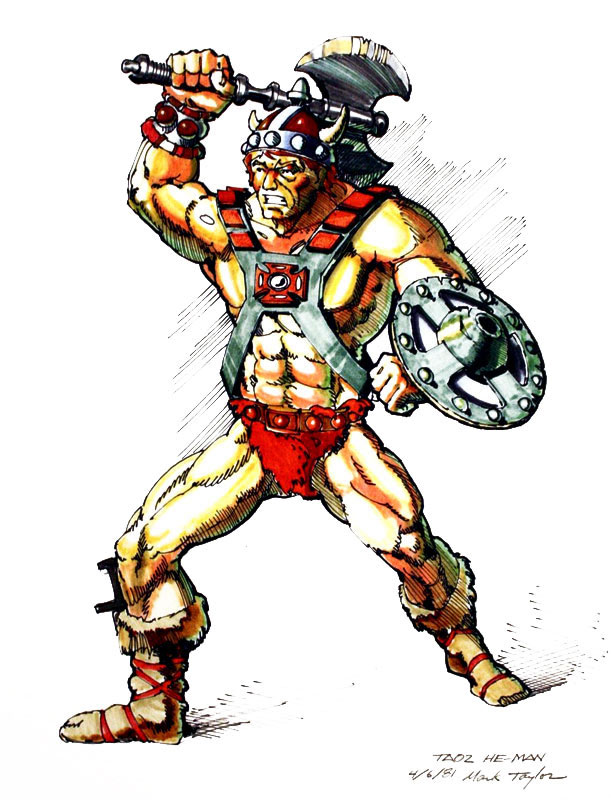 Mark Taylor He-Man