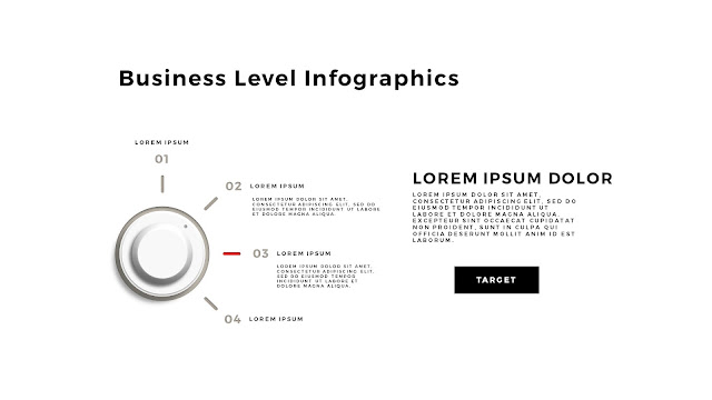 Business Level Infographics Free PowerPoint Template Slide 8