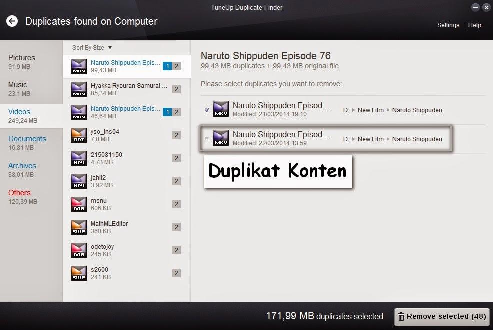 Cara Mencari Duplikat File Hardisk