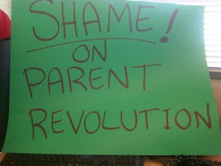 Shame on the Parent Revolution