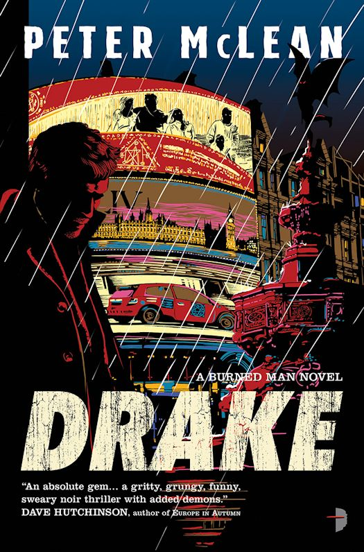 2016 Debut Author Challenge Update - Drake by Peter McLean