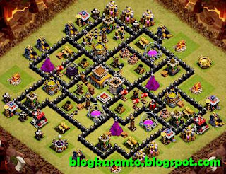 Base COC th 8 Anti Naga dan Gowipe 01