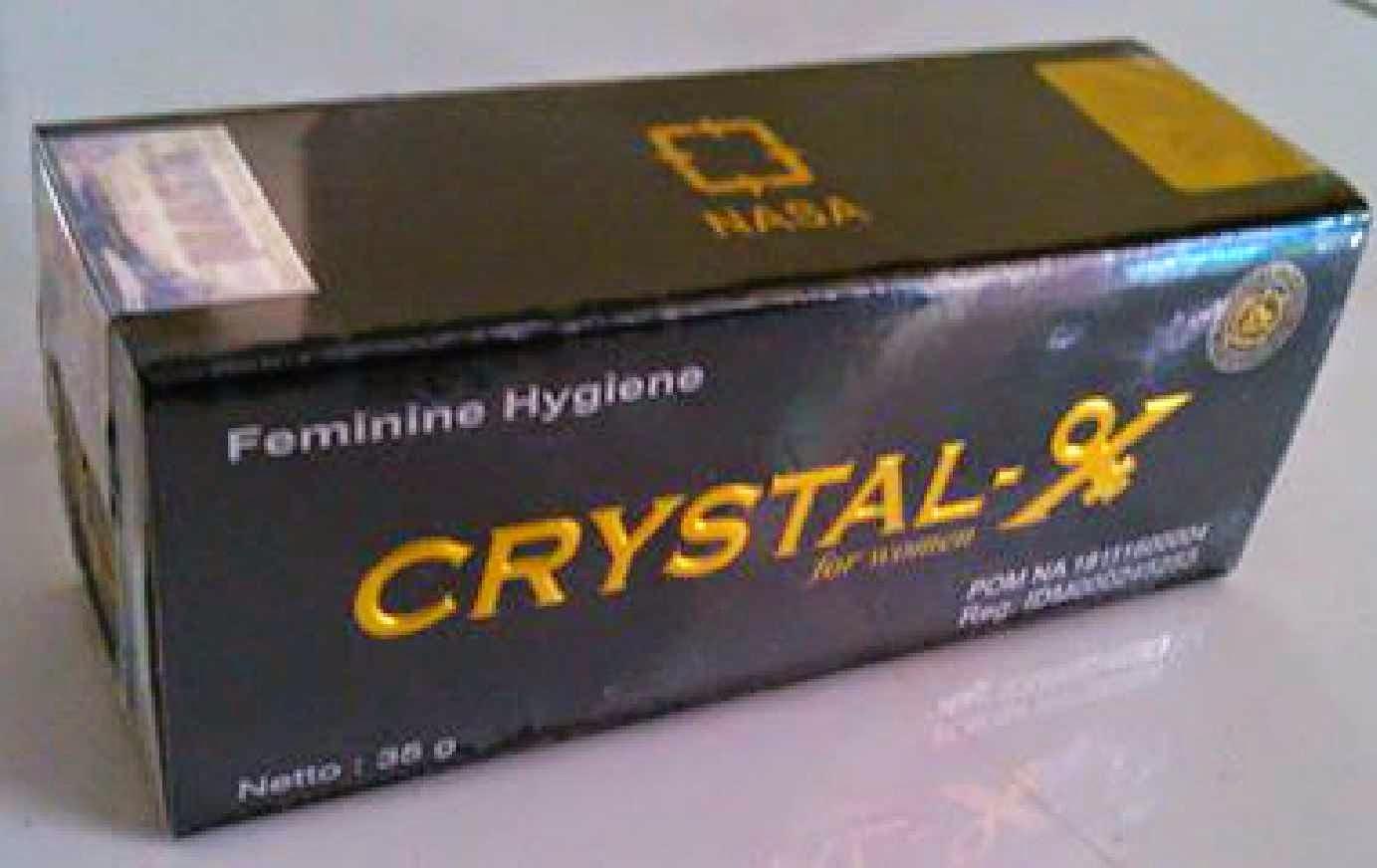 crystal x asli dan efek samping pemakaianya