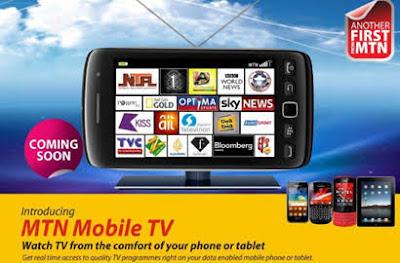 mtn mobile tv