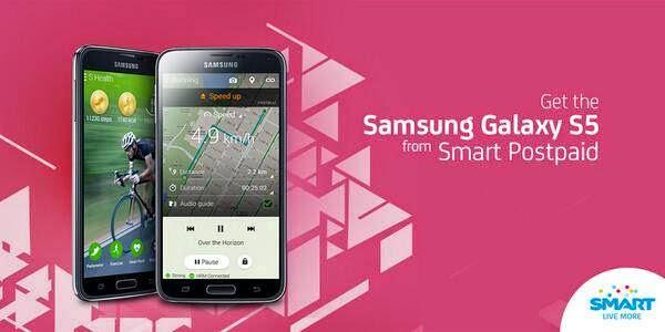 Samsung Galaxy S5 Smart Network Postpaid Plan Pricing
