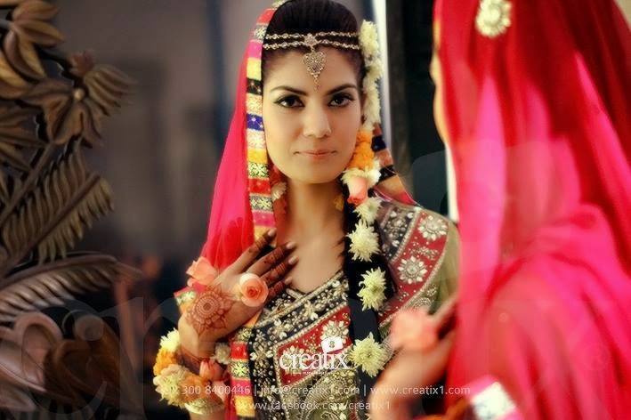 Mehndi Wedding Dresses 2016 : Latest bridal mehndi dresses 2015 pakistani dress