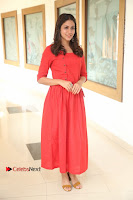 Actress Lavanya Tripathi Latest Pos in Red Dress at Radha Movie Success Meet .COM 0097.JPG