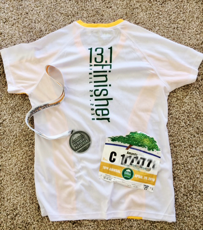 b6732f0587b50 The Lady Okie: Recap of Half Marathon #11