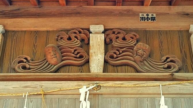 人文研究見聞録: 伊甘神社(下府明神) [島根県]