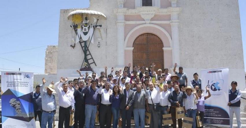 IGP pondrá primera piedra para Laboratorio Geofísico del Sur en Arequipa - www.igp.gob.pe