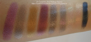 Mermaid Collection - refill ombretti - da sinistra a destra: Calypso, Chemical Bond, Cleo, Juno Moon, Nereide, Selfish, Sensuelle, Sugar, Under Pressure