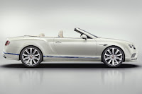 Bentley Continental GT V8 Convertible Galene Edition by Mulliner (2017) Side