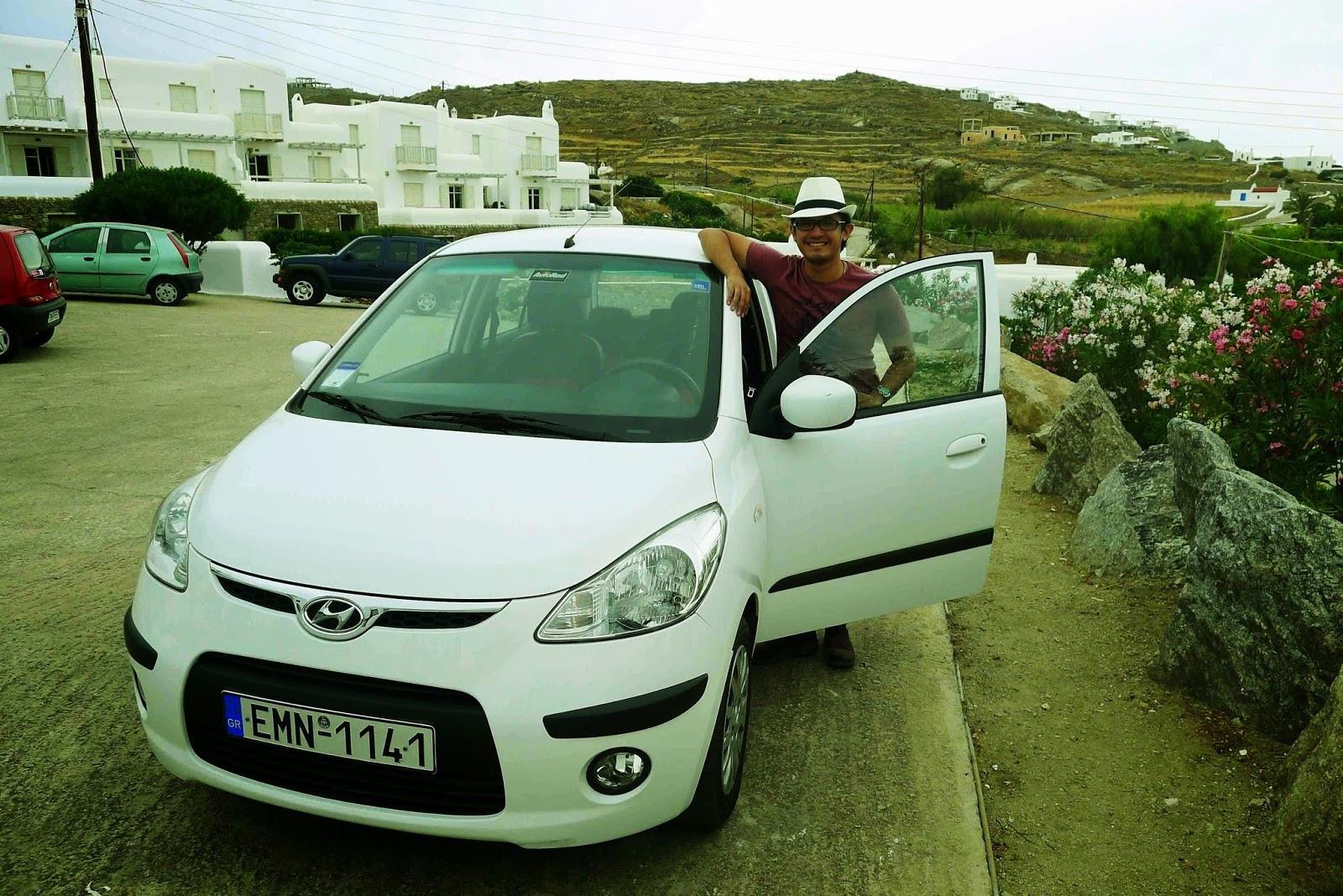 Mykonos rent-a-car