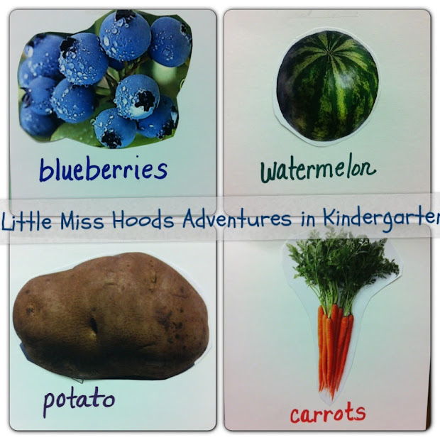 Little Hood' Adventures In Kindergarten Plants