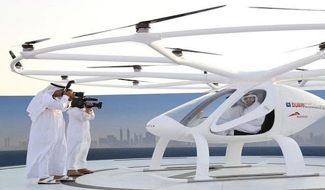Dubai launches first world self-flying taxis