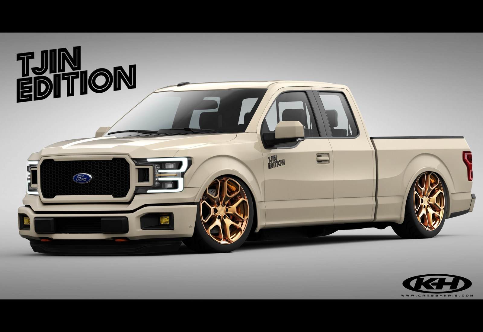 ford previews eight custom f series pickups for sema carscoops. Black Bedroom Furniture Sets. Home Design Ideas