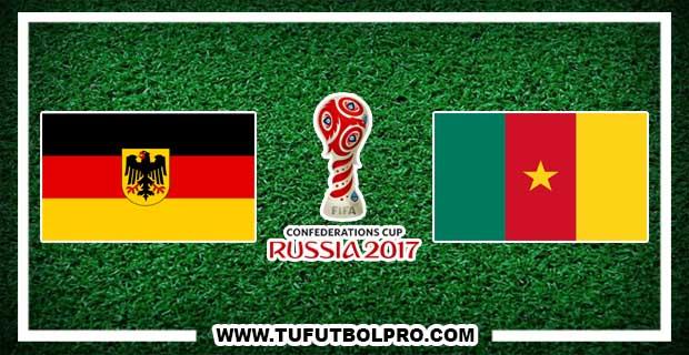 Ver Alemania vs Camerún EN VIVO Por Internet Hoy 25 de Junio 2017