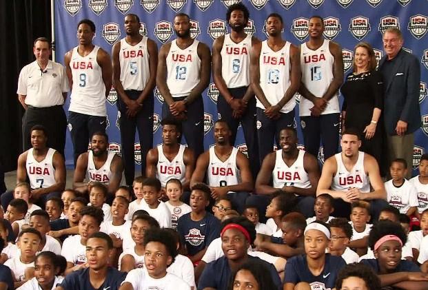 Aartdekker Basketball Olympische Spelen Rio 2016 Coach K