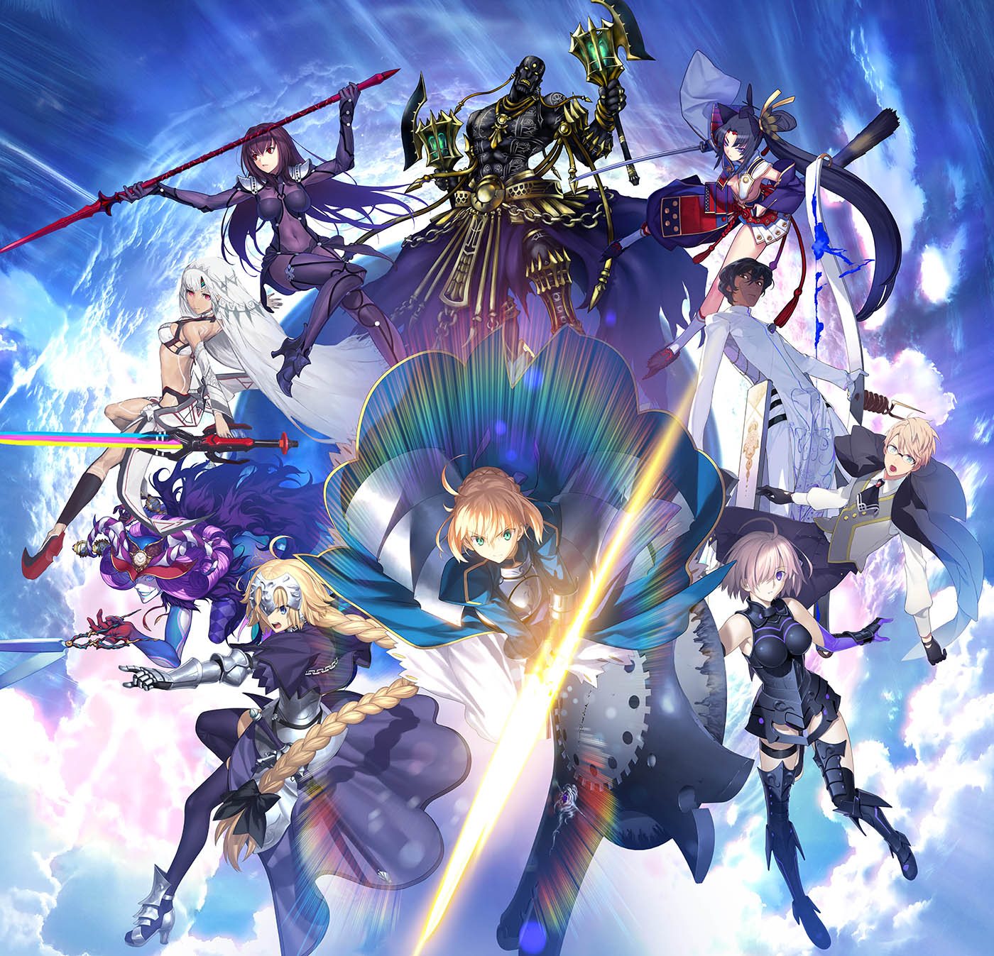 Fate/Grand Order NA Announces the 1 Million Downloads