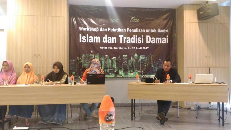 Santri Digembleng Menulis Untuk Suarakan Islam dan Tradisi Damai