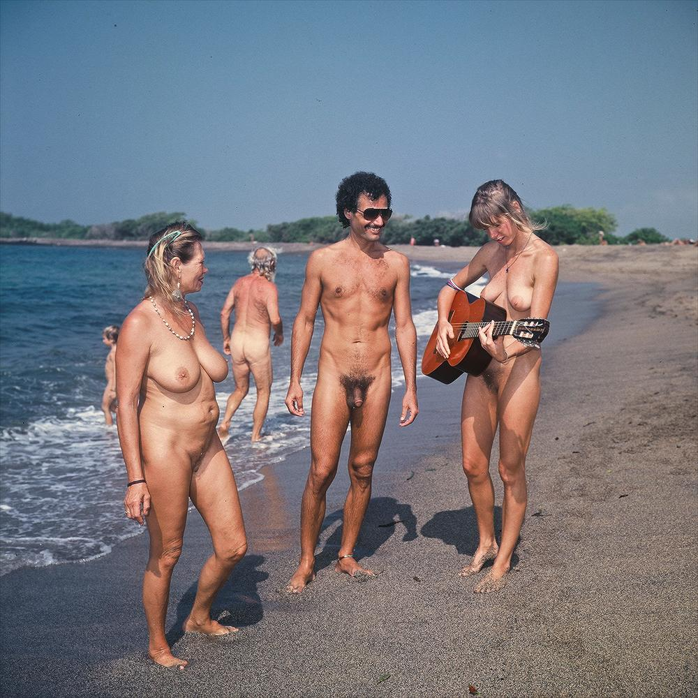 Nude babes at the indian beach