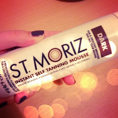 St Moriz Self Tanning Mousse