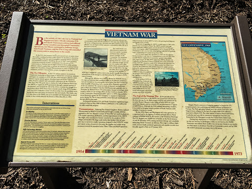 Typical Information Panel along the Veterans Memorial Riverwalk in Delafield