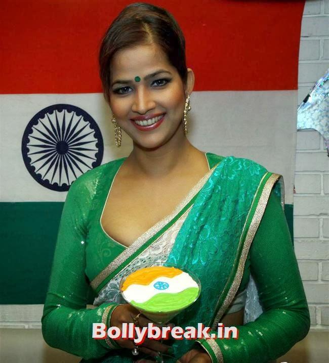 Tanisha Singh, BGrade Movie Actresses Celebrate Republic Day at Peninsula Grand