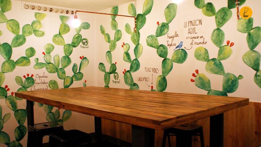 Gofio by Cicero Canary local Madrid decoración barrio de las Letras