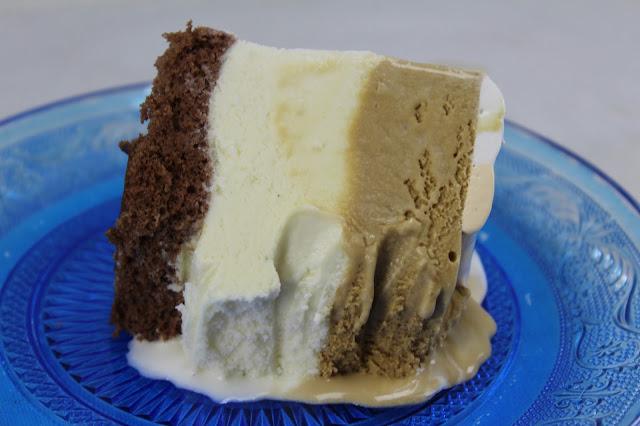 Tarta helada de vainilla y café con Thermomix
