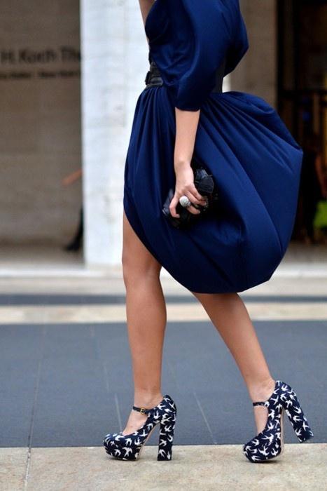 qual sapato usar com vestido