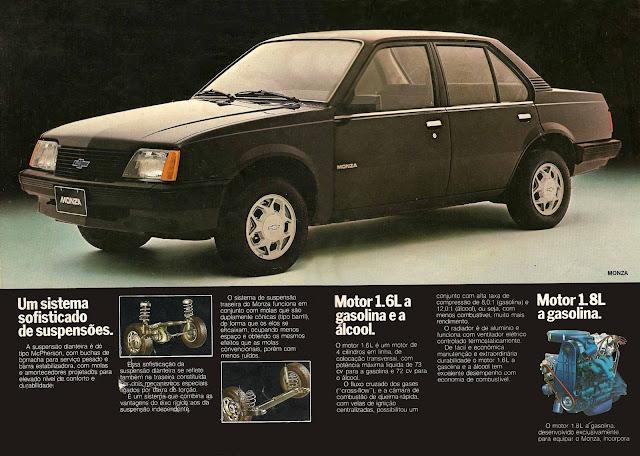 Chevrolet Monza  três volumes 1983 1.6