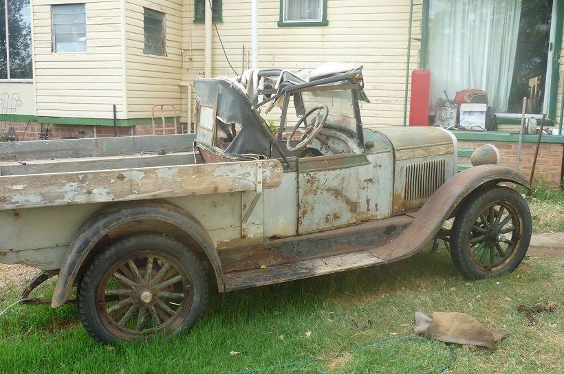My 1928 Chevrolet 1927 Aussie Chev Ute