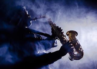 Saxofonista en vivo, podrás sentir la musica en directo en el festival de Jazz de Reikiavik